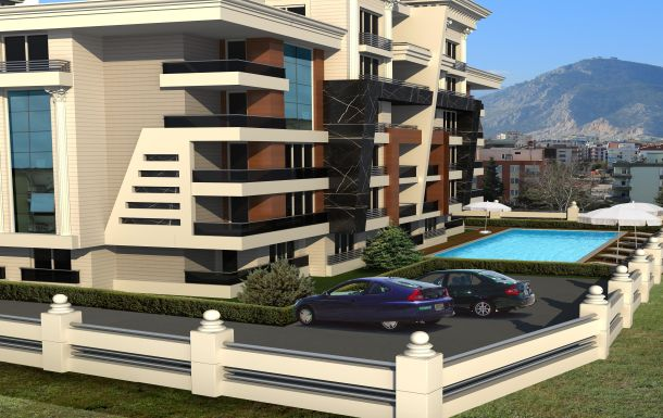 квартиры в Анталии комплекс ASTONE-HOMES 4