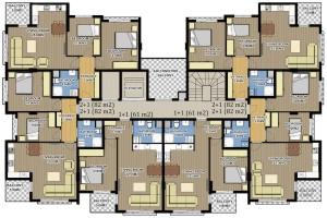 жилой комплекс в Коньялты ASTON HOMES 6