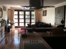 Дуплекс с мебелью и садом Kaleici