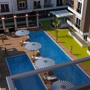 Квартиры в Анталии в новом комплексе Jasmin Residence