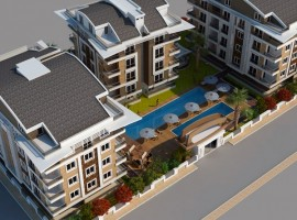 Квартиры в Анталии  Jasmin Residence