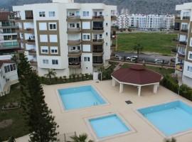 Сдается двухкомнатная квартира в комплексе yesil vaha park